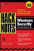 Hacknotes Windows Security Portable Reference (Hacknotes)