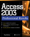Microsoft Office Access 2003 (Professional Results)