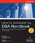 Oracle Database 10g DBA Handbook (Oracle Press) Cover