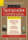 Network+ Certification All-In-One Exam Guide with CDROM Cover