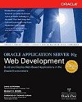 Oracle Application Server 10g Web Development Cover
