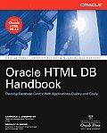 Oracle HTML DB Handbook