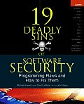 19 Deadly Sins Of Software Security Programming
