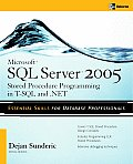 Sql Server 2000 Stored Procedure Prog. (3RD 06 Edition)