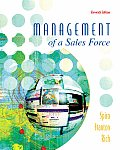 Management of a Sales Force (McGraw-Hill/Irwin Series in Marketing) Cover