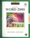 Advantage Series: Microsoft Word 2000 W/Appendix Introductory Edition
