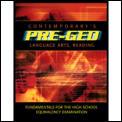 Contemporary Pre GED Language Arts & Reading