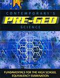 Pre-GED Satellite Book: Science