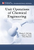 Unit Operations of Chemical Engineering (7TH 05 Edition)