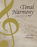 Tonal Harmony With An Introduction To Twentieth Century Music 5th Edition