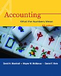 Accounting: What the Numbers Mean with Book(s)