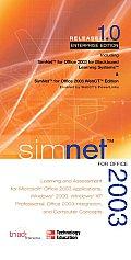 Simnet for Office 2003 Enterprise/Blackboard/Webct Edition One Module