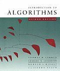 Introduction To Algorithms (Cloth) - With CD (2ND 01 Edition) Cover