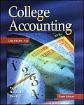 Update Edition of College Accounting - Student Edition Chapters 1-32 W/ NT and PW