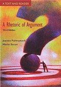 Rhetoric Of Argument Text & Reader
