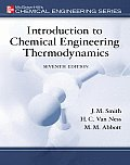 Introduction To Chemical Engineering Thermodynamics (7TH 05 Edition)