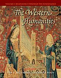 Western Humanities, Volume I (6TH 08 - Old Edition)