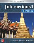 Interactions 1 Reading Student Book Silver Edition