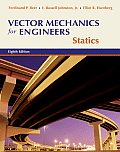 Vector Mechanics for Engineers : Statics -with Mini CD (8TH 07 - Old Edition)