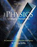 Physics Of Everyday Phenomena A Conc 5th Edition