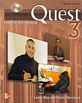 Quest Listening and Speaking, 2nd Edition - Level 3 (Low Advanced to Advanced) - Student Book W/ Audio Highlights (Quest)