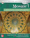 Mosaic 1 : Listening / Speaking - With CD (5TH 07 Edition)