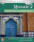 Mosaic 2 : Listening / Speaking - With CD (5TH 07 Edition) Cover