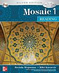 Mosaic 1 : Reading - With CD Silver Edition (07 Edition) Cover