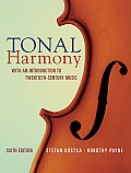Tonal Harmony 6th Edition With An Introduction To Twentieth Century Music