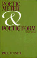 Poetic Meter and Poetic Form Cover