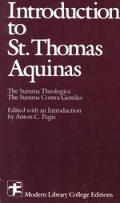 Introduction to Saint Thomas Aquinas (Modern Library College Editions)