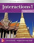 Interactions 1 - Writing Student Book Plus E-Course Code: Silver Edition (Interactions)