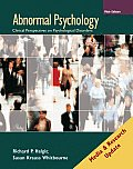 Abnormal Psychology: Media and Research Update 5e with Mindmap II CD