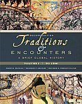 Traditions &amp; Encounters: A Brief Global History, Volume I Cover