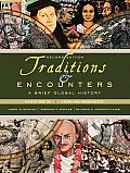 Traditions & Encounters: a Brief Global History: Volume 2 (2ND 10 - Old Edition) Cover