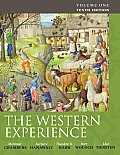 Western Experience, Volume 1-to 18TH Century (10TH 10 Edition)