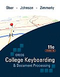 Gregg College Keyboarding & Document Processing Kit 1 Lessons 1 60 With Word 2010 Manual