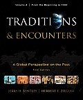 Traditions and Encounters, Volume a (5TH 11 Edition) Cover