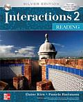 Interactions 2 - Reading Student Book Plus E-Course Code: Silver Edition (Interactions)