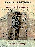 Western Civilization, Volume 1 (16TH 11 - Old Edition)
