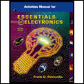Activities Manual for Essentials of Electronics (2ND 01 Edition)