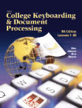 College Keyboarding & Processing Kit 9th Edition