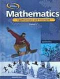 Mathematics: Course 2: Applications and Concepts