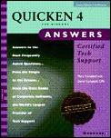 Quicken 4 for Windows answers