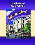 Asi Se Dice, Level 1, Workbook and Audio Activities