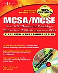 MCSA/MCSE Managing and Maintaining a Windows Server 2003 Environment for an MCSA Certified on Windows 2000: Study Guide & DVD Training System