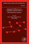 Quantum Efficiency in Complex Systems: Biomolecular Systems