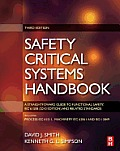 Safety Critical Systems Handbook: A Straightfoward Guide to Functional Safety, Iec 61508 (2010 Edition) and Related Standards, Including Process Iec 6