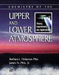 Chemistry of the Upper and Lower Atmosphere : Theory, Experiments, and Applications (00 Edition)