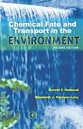 Chemical Fate and Transport in Environment (2ND 00 Edition)